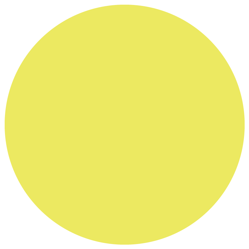 Yellow decorative graphic design element