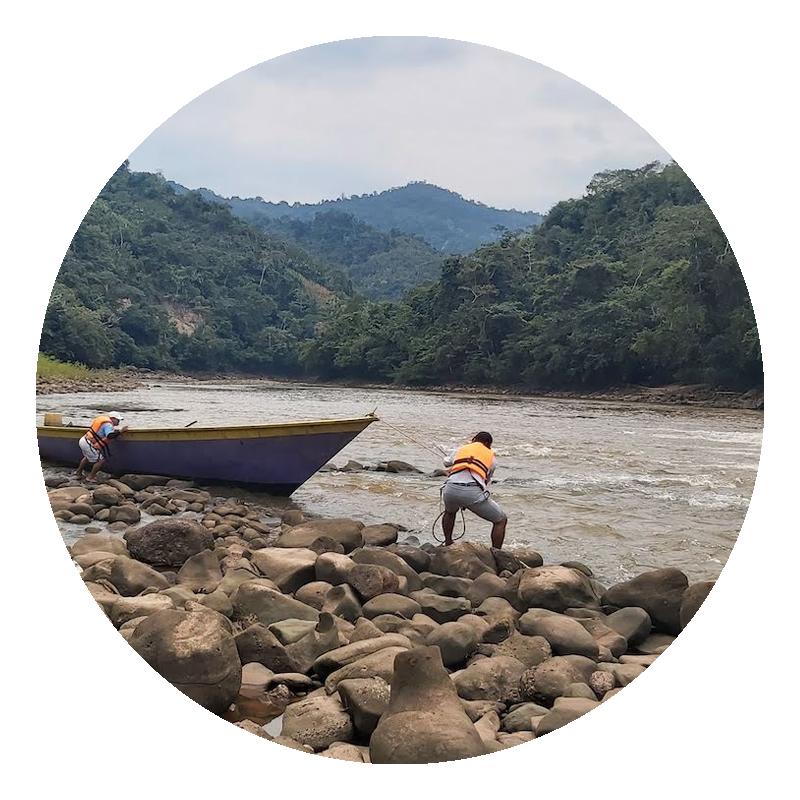 New Energy Peru, river, boat